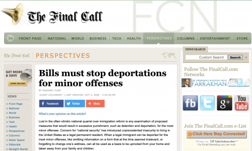 http://www.finalcall.com/artman/publish/Perspectives_1/Bills_must_stop_deportations_for_minor_offenses_2954.shtml