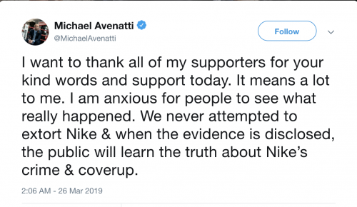 https://twitter.com/MichaelAvenatti/with_replies