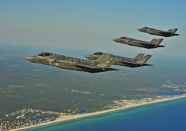 Expecting Trouble? U.S. Deploys F-35s to UAE, Naval Assets to Red Sea, Persian Gulf
