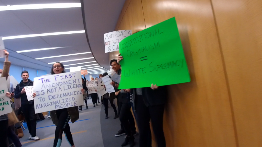 http://joshblackman.com/blog/2018/04/12/students-at-cuny-law-protested-and-heckled-my-lecture-about-free-speech-on-campus/