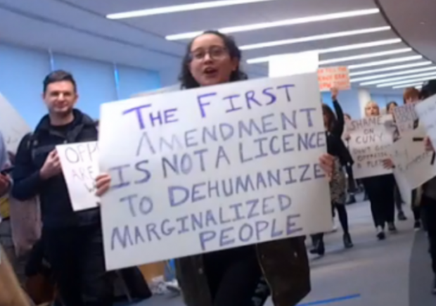 Cuny Law School >> F Ck The Law Cuny Law Students Attempt Shout Down Of
