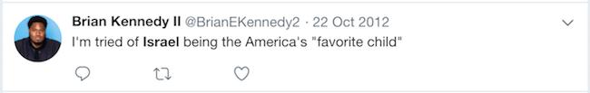 Brian E. Kennedy II, Israel Resolution