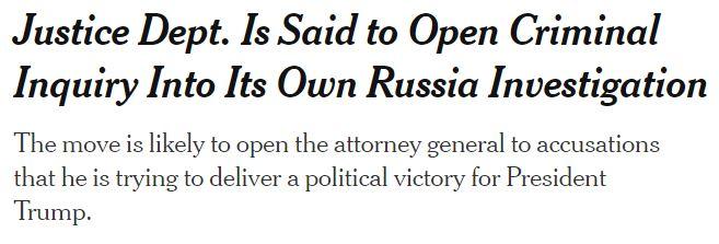 https://www.nytimes.com/2019/10/24/us/politics/john-durham-criminal-investigation.html