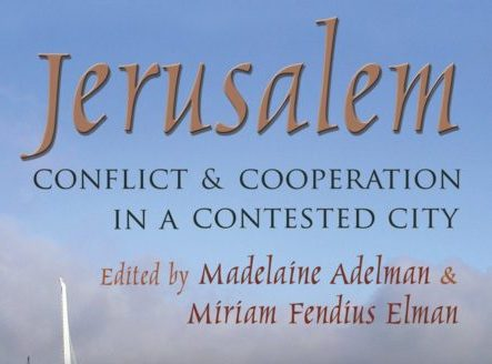 https://www.amazon.com/Jerusalem-Conflict-Cooperation-Contested-Resolution/dp/0815633394