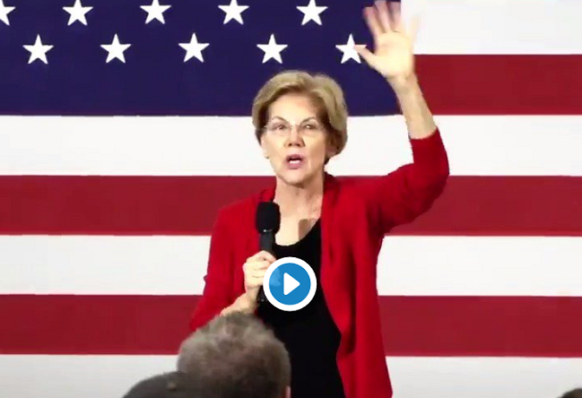 "Elizabeth Warren: ""I plan to be the last American president to be elected by the Electoral College"""