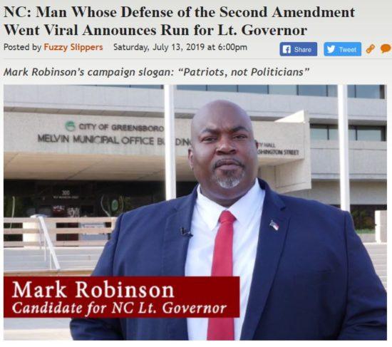 https://legalinsurrection.com/2019/07/nc-man-whose-defense-of-the-second-amendment-went-viral-announces-run-for-lt-governor/