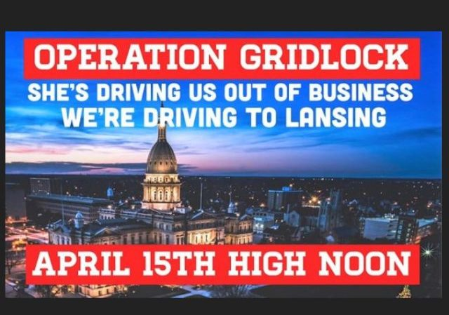 Operation Gridlock: In-Vehicle Protest To Jam Lansing (MI ...