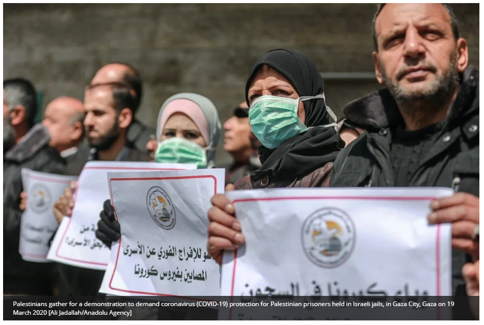 https://www.middleeastmonitor.com/20200403-10-palestinian-detainees-launch-hunger-strike-protest-lack-of-coronavirus-protection/