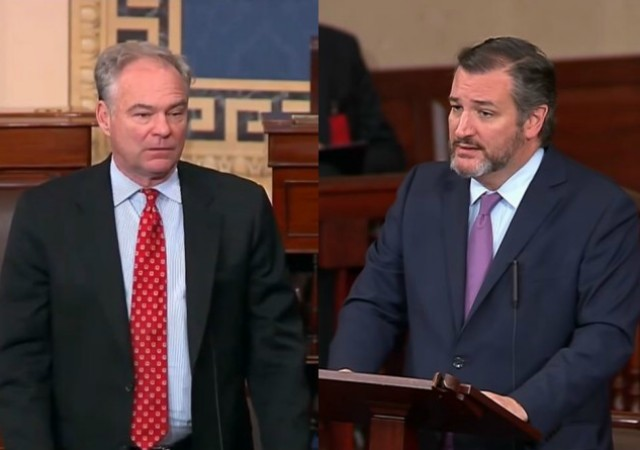 Led by Sens. Cruz and Kaine, Senate Passes Unanimous Resolution Expressly Condemning Anti-Semitism
