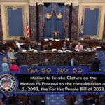 Senate Republicans Use Filibuster to Block Election Reform Bill